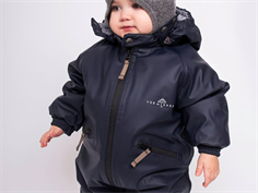 Ver de Terre rubber snowsuit navy
